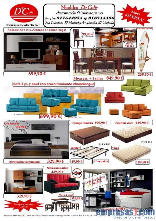 Muebles de celis coslada - Empresas en coslada ...